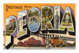 Greetings from Peoria, Illinois Photo