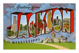 Greetings from Jackson, Mississippi Prints