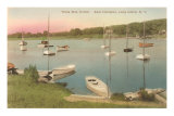 Three-Mile Harbor, East Hampton, Long Island, New York Posters