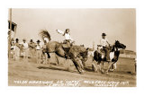 Woman Bronco Rider Photo
