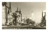 Hollywood Boulevard, Hollywood, California Photo