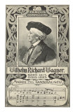 Richard Wagner and March from Tannhauser Poster