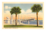 Bridge of Lions, St. Augustine, Florida Posters