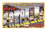 Greetings from Catalina Island, California Prints