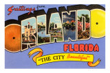 Greetings from Orlando, Florida Poster