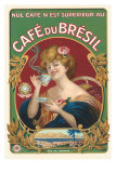Cafe du Bresil Label Posters