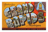 Souvenirs de Grand Rapids, Michigan Posters