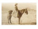 Girl on Horseback Prints