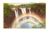 Rainbow Falls, Hilo, Hawaii Prints