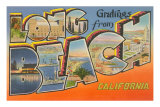 Greetings from Long Beach, California Prints