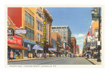 Fourth Avenue, Louisville, Kentucky Prints