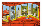 Greetings from Peoria, Illinois Prints