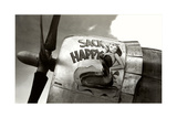 Nose Art, Sack Happy Pin-Up Psters