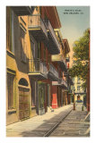 Pirates' Alley, New Orleans, Louisiana Prints