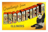 Greetings from Brookfield, Illinois Prints