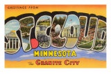 Greetings from St. Cloud, Minnesota Prints