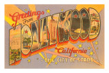 Greetings from Hollywood, California Poster