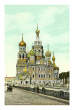 Church of the Resurrection, St. Petersburg, Russia Prints