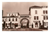 Paramount Studios, Hollywood, California Print