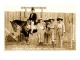 Mayor Speer and Cowgirls Art