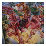 Elasticity Giclee Print by Umberto Boccioni