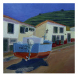 Fishing Boat Giclee Print by Mary Stubberfield
