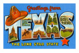 Greetings from Texas Poster