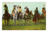 Blackfoot Indian Braves Photo