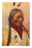 Chief Sitting Bull, Sioux Indian Posters