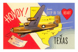 Howdy from Deep in the Heart of Texas Posters