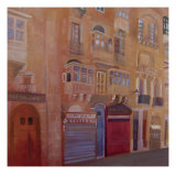 Afternoon in Valletta Giclee Print by Mary Stubberfield