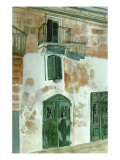 Door in Malta Giclee Print by Mary Stubberfield