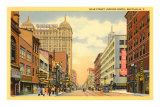 Main Street, Buffalo, New York Poster
