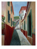 Madeira Street Giclee Print by Mary Stubberfield