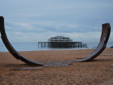 The West Pier Brighton Photographic Print by Paul Tolhurst