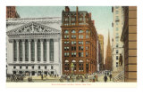 New York Stock Exchange, Wall Street, New York City Poster