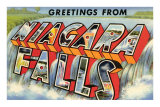 Greetings from Niagra Falls, New York Photo