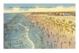 Beach Scene, Wildwood-by-the-Sea, New Jersey Photo
