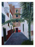 Old Village Houses, Madeira Giclee Print by Mary Stubberfield