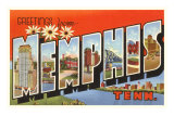 Greetings from Memphis, Tennessee Posters
