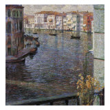 The Grand Canal in Venice Giclee Print by Umberto Boccioni