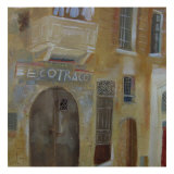 Shop in Malta Giclee Print by Mary Stubberfield