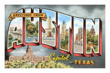 Greetings from Austin, Texas Prints