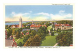 Cayuga Lake, Cornell University, Ithaca, New York Print