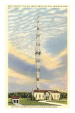 Tallest Radio Tower, Nashville, Tennessee Posters