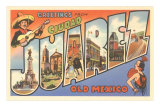 Greetings from Ciudad Juarez, Mexico Prints