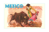Bullfight Poster, Mexico Photo