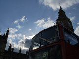 Westminster Bus Photographic Print by Paul Tolhurst