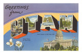 Greetings from Utah Prints