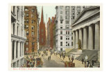 Wall Street, New York City Prints